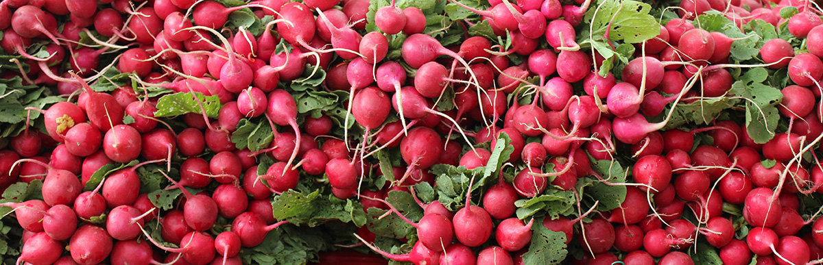 A massive pile of beets